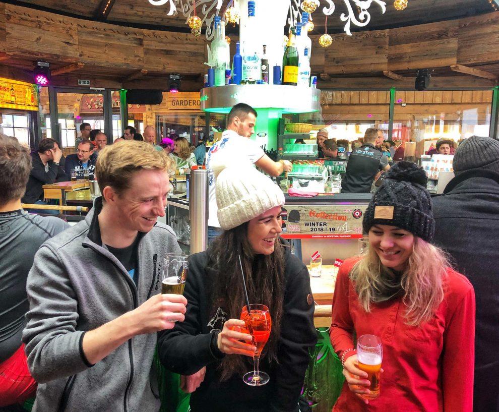 ski vakantie Oostenrijk, ski amade Salzburger Sportwelt, De leukste après-ski plekken in Flachau. Hofstadl Flachau
