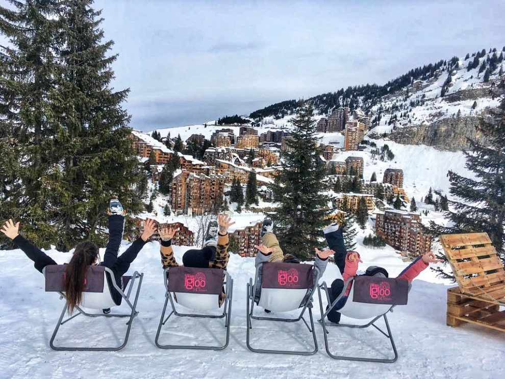 Wintersport Frankrijk Portes du Soleil ; Autovrij dorp Avoriaz 1800