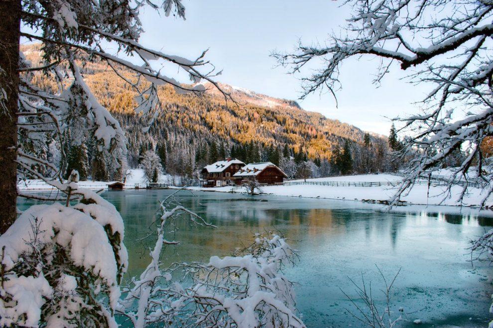 ski vakantie Oostenrijk, ski amade Salzburger Sportwelt. Langlaufen en wandelen bij Jägersee Wagrain