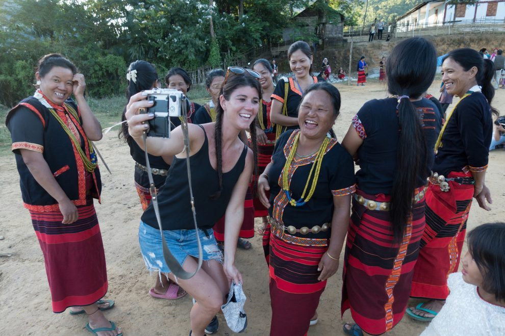 15 hoogtepunten voor een reis naar India bezoek een North East India indian tribe - Arunachal Pradesh - Adi tribe