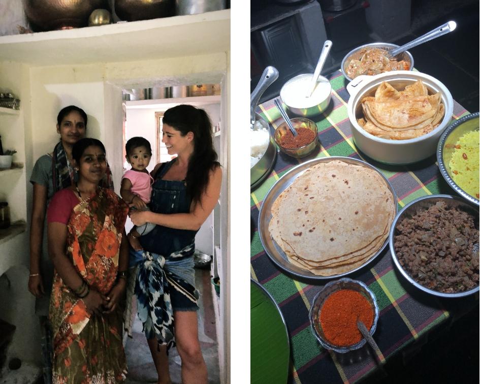 15 hoogtepunten voor een reis naar India eten met locals in Karnataka Zuid India