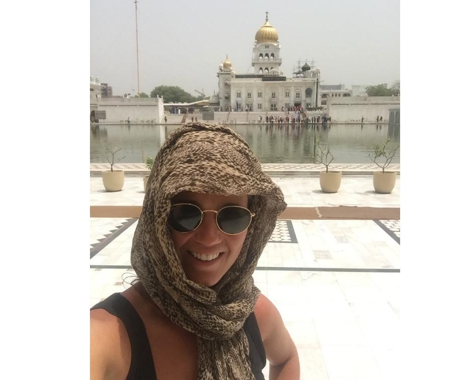 15 hoogtepunten voor een reis naar India - New Delhi Gurudwara Bangla Sahib complex.
