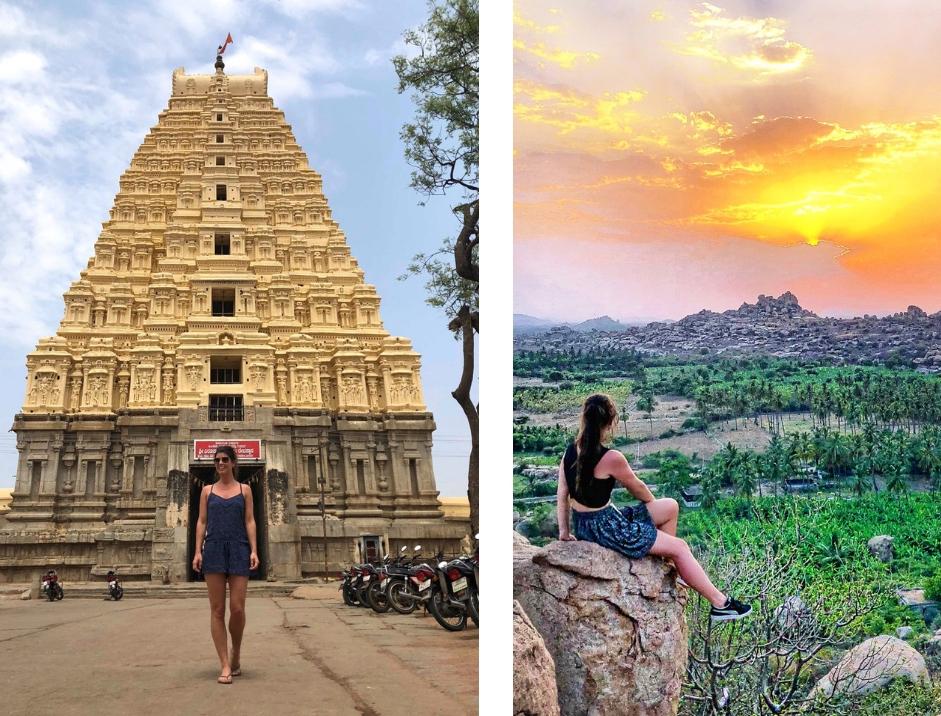 15 hoogtepunten voor een reis naar India - Hampi bezoeken Zuid India