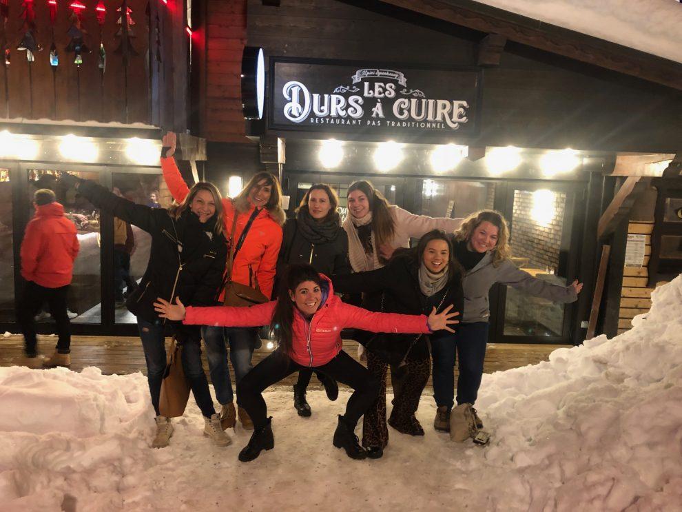 Wintersport Frankrijk Portes du Soleil ; Van Les Gets naar Avoriaz. Les Durs a Cuire