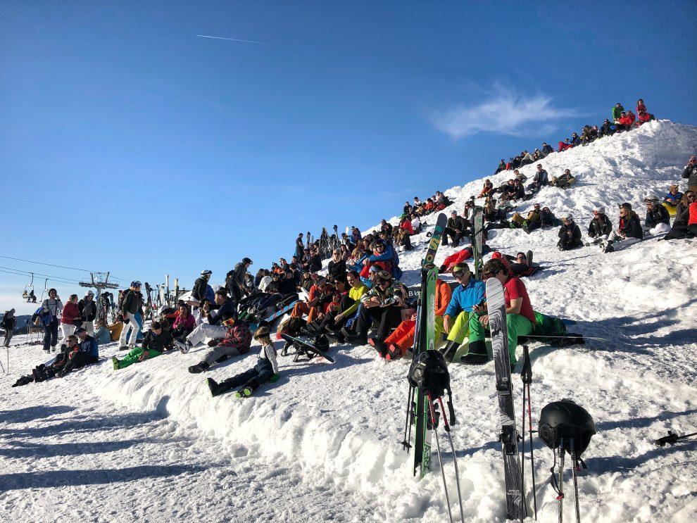 Wintersport Frankrijk Portes du Soleil ; Autovrij dorp Avoriaz 1800 La Folie Douce