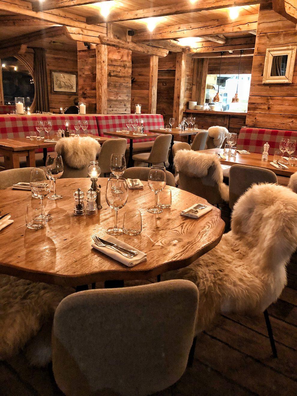 Wintersport Frankrijk Portes du Soleil ; Autovrij dorp Avoriaz 1800 Restaurant La Reserve