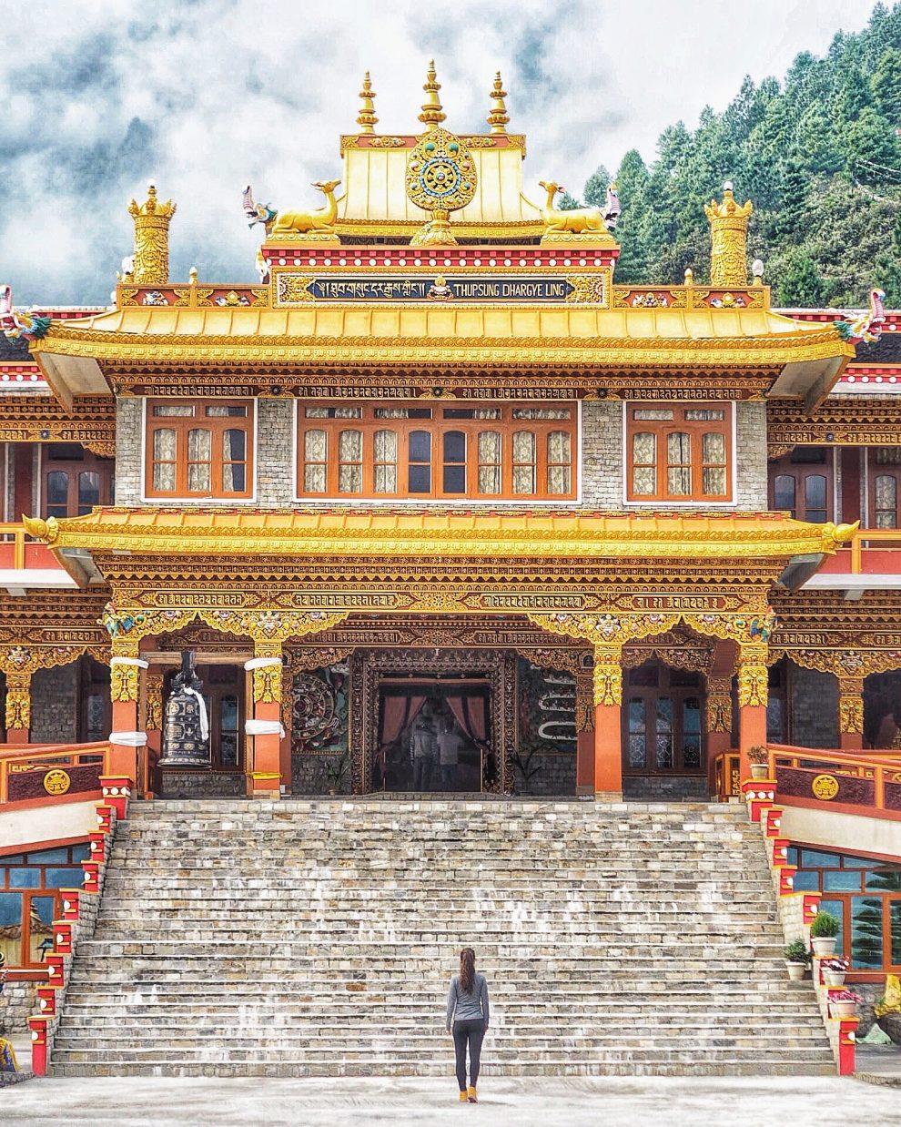 15 hoogtepunten voor een reis naar India Thupsung Dhargye Ling klooster in Dirang