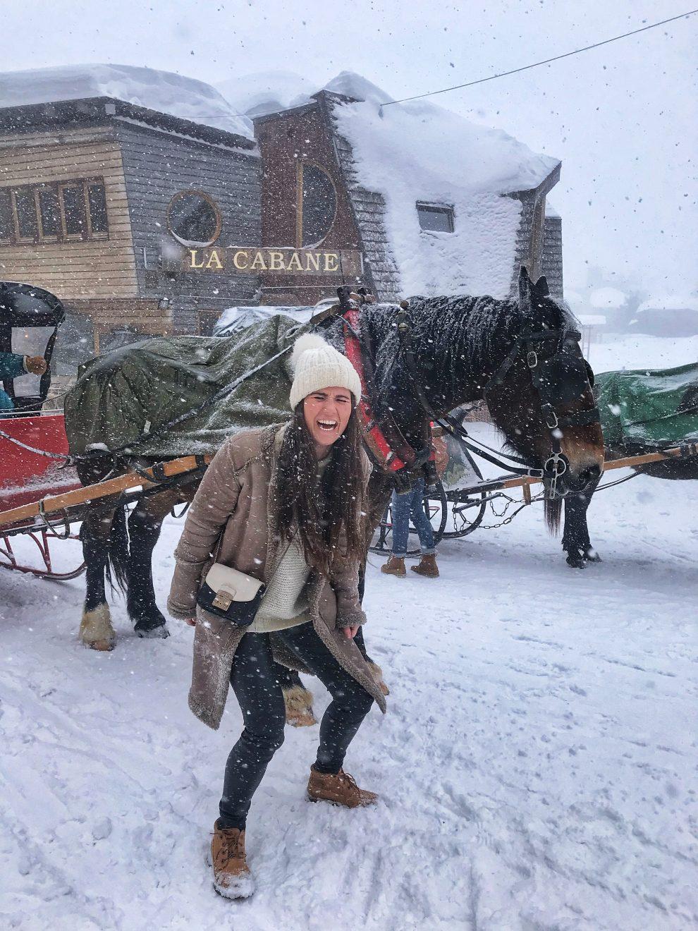 Wintersport Frankrijk Portes du Soleil ; Les Gets naar Avoriaz.