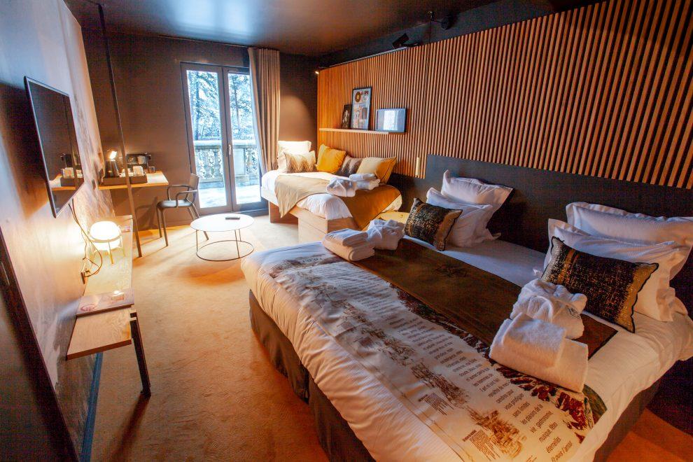 La Folie Douce hotel Chamonix - après-ski Frankrijk hotelkamers