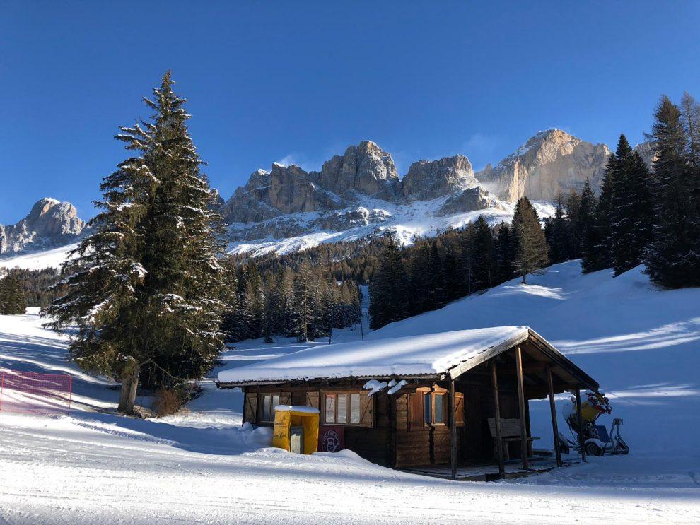 Dolomiti Superski; wintersport in de Italiaanse Dolomieten - Carezza