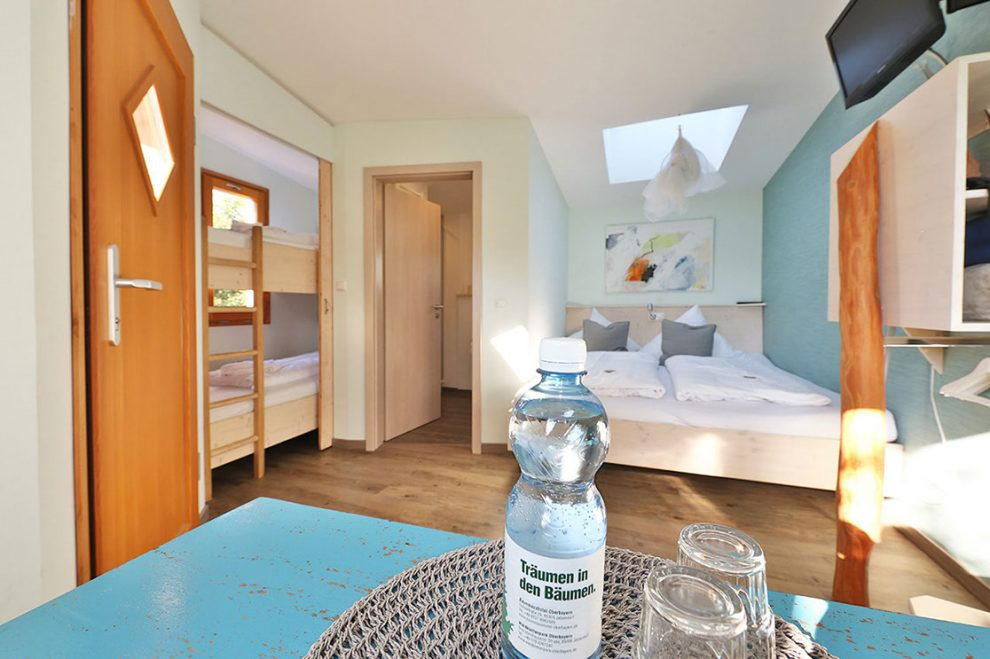 Baumhaus hotel Oberbayern, slapen in een luxe boomhut in Duitsland