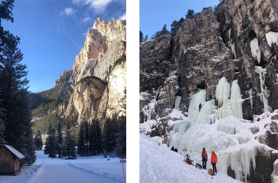 Dolomiti Superski; wintersport in de Italiaanse Dolomieten -afdaling Lagazuoi