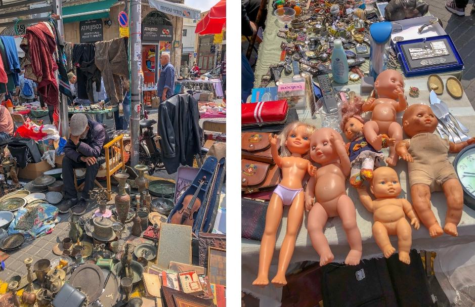 Citytrip Tel Aviv. fleamarket Jaffa