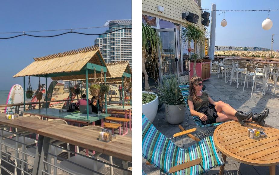 Citytrip Tel Aviv. Beachclub TLV