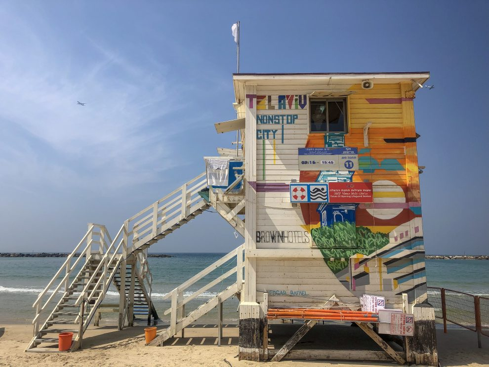 Citytrip Tel Aviv. De stranden van Tel Aviv