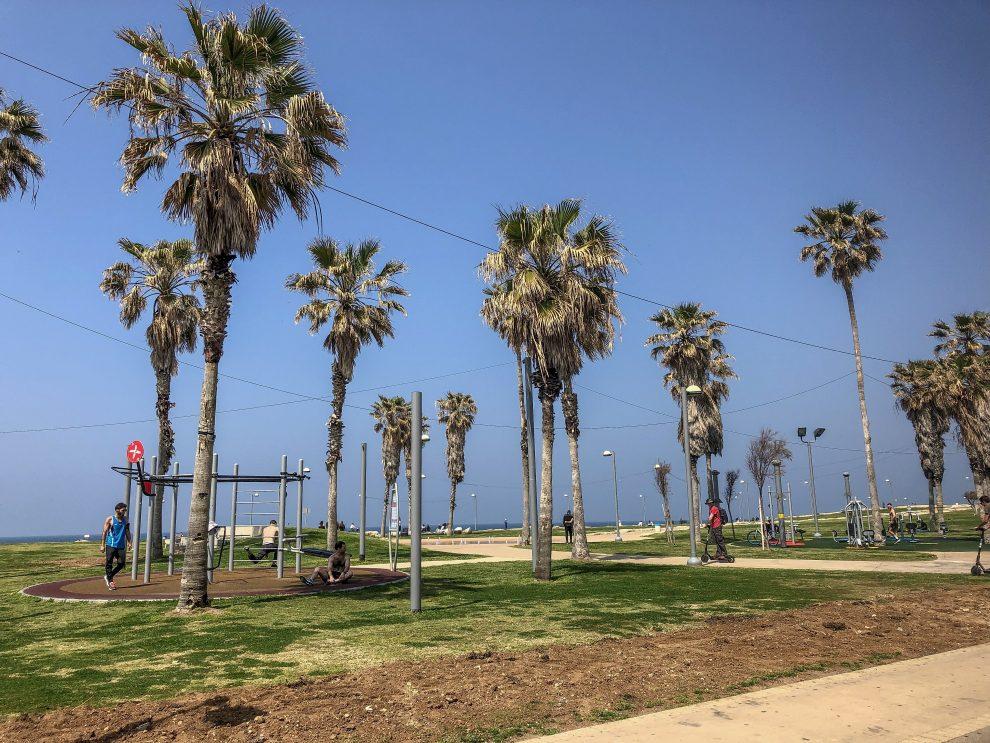 Citytrip Tel Aviv. sporten in Tel Aviv