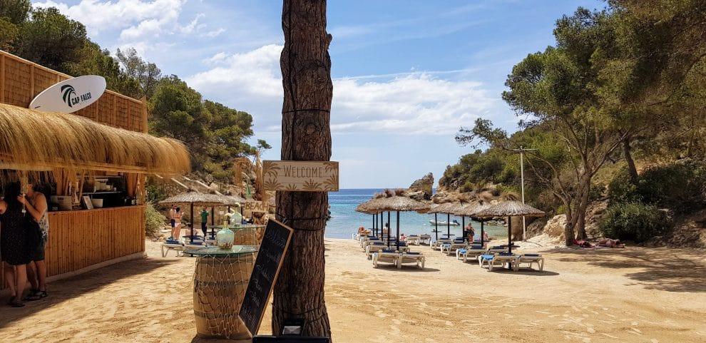 Cala Falco mooiste strand Mallorca westen