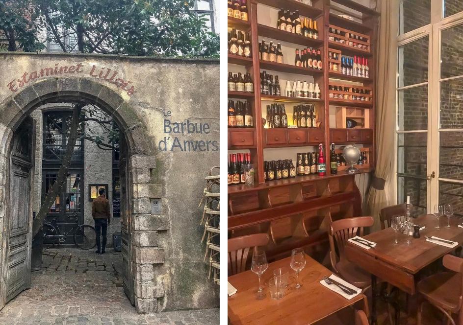 Stedentrip Lille, alle tips voor een weekendje weg Lille 3000 Eten en drinken in Lille Le Barbue d'Anvers