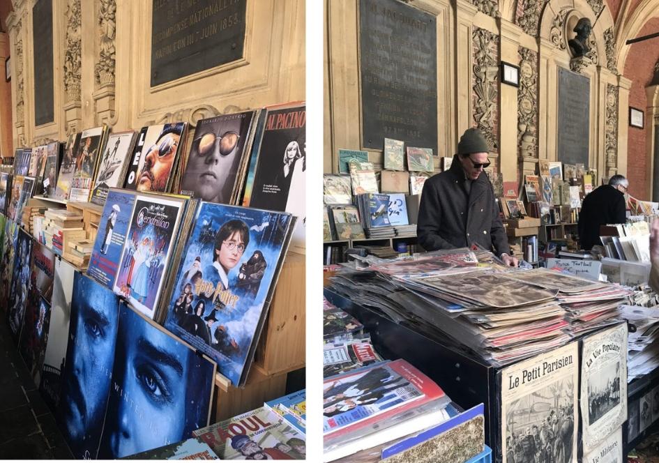 Stedentrip Lille, alle tips voor een weekendje weg Lille 3000. Dingen doen tijdens een weekendje Lille. Bezoek een boekenmarkt in het oude beursgebouw