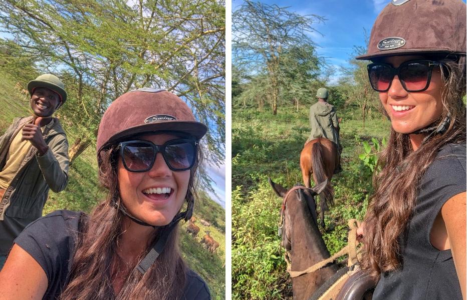 paardrijden in Tanzania Kaskazi Horse safari's vakantie in Tanzania