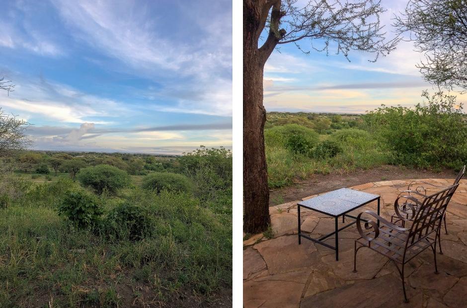 Osupoku Lodg. overnachten in Tanzania.overnachten in Tarangire Nationalpark
