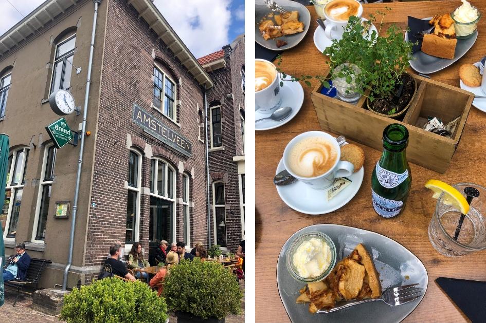 Dagje weg naar Amstelveen. Uniek overnachten B&B Amstelveen museumtram Amstelveen koffie en gebak in Amstelveen