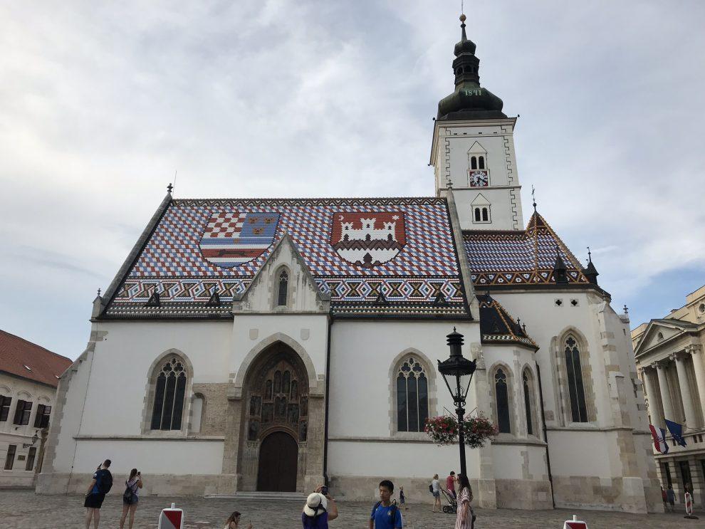 Rondreis Kroatië. Bezienswaardigheden Zagreb.