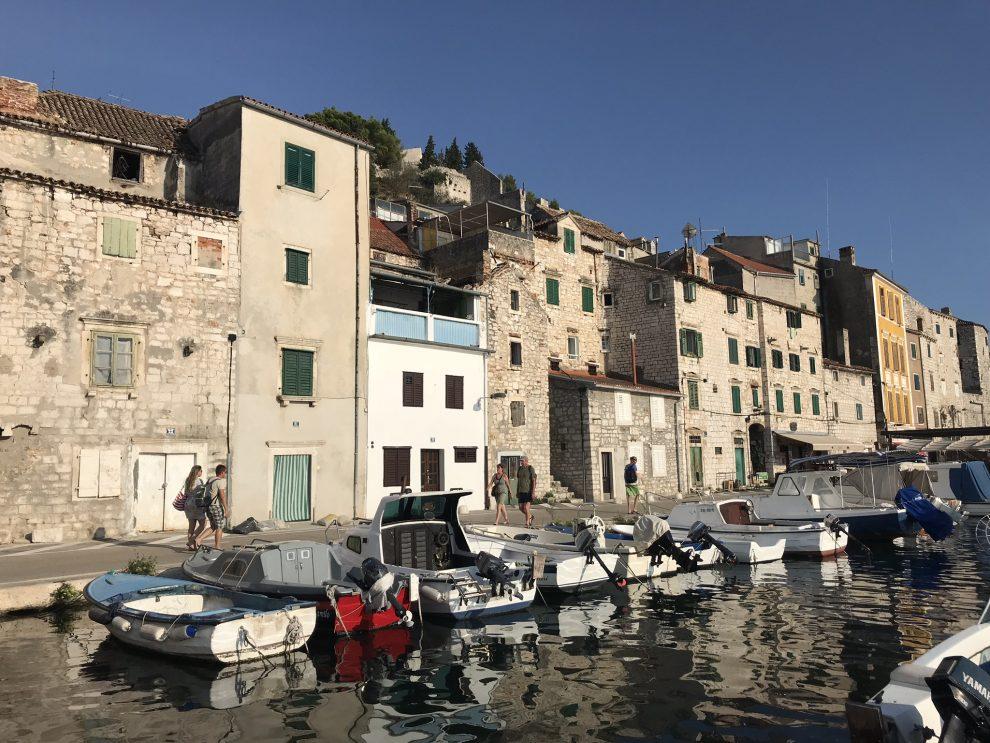 Rondreis Kroatië. vakantie naar Kroatie. Bezienswaardigheden Šibenik