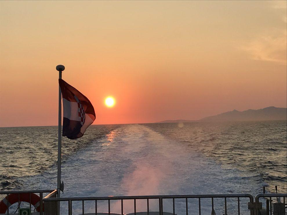 Rondreis Kroatië. de eilanden van Kroatie.