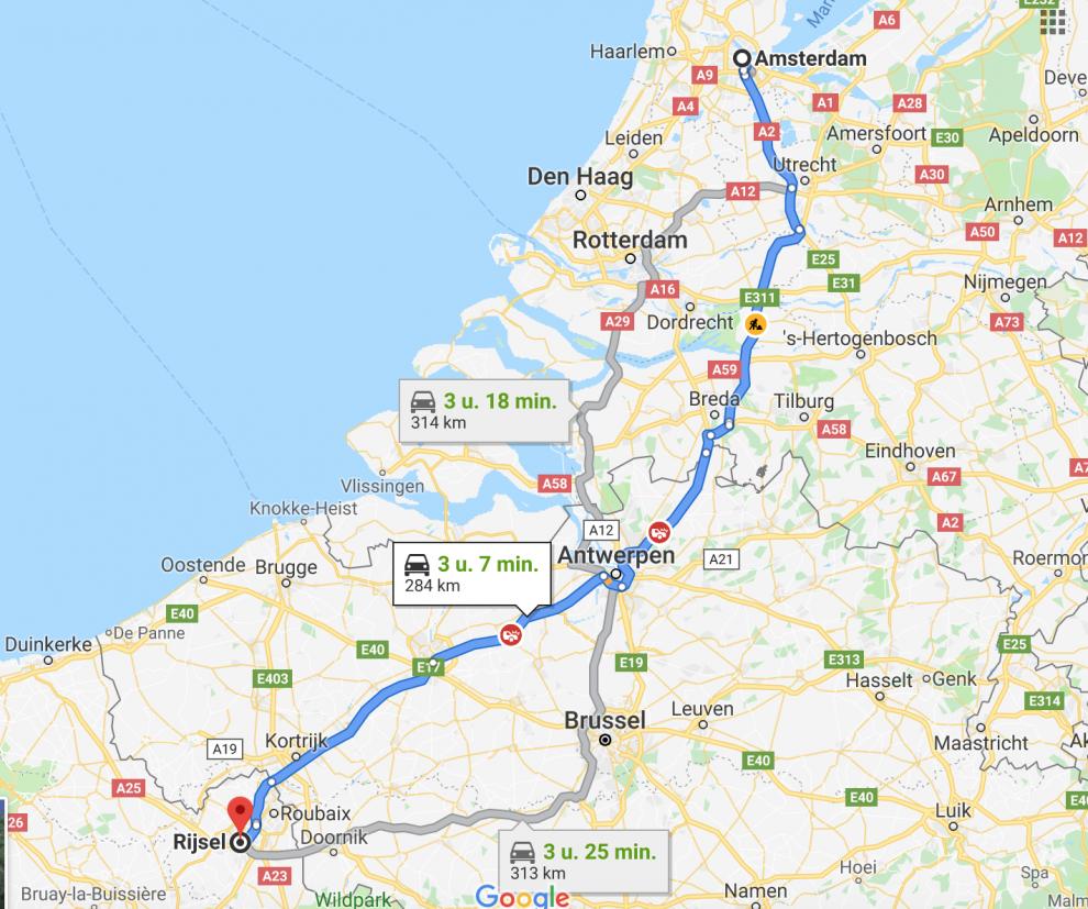Stedentrip Lille, alle tips voor een weekendje weg Lille 3000. Bereikbaarheid Lille