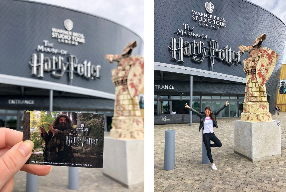 Harry Potter reis door Engeland. Harry Potter Studio Tour London - Alle Harry Potter filmlocaties