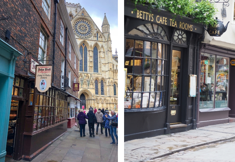 Stedentrip York, de leukste koffie tentjes in York, Bettys Café Tea Rooms