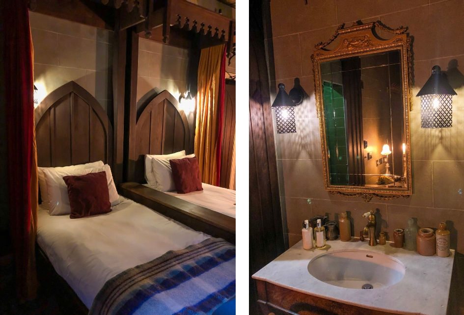 Harry Potter reis door Engeland. filmlocaties London - slaap in een Harry Potter kamer - The Georgian House Hotel London - Alle Harry Potter filmlocaties