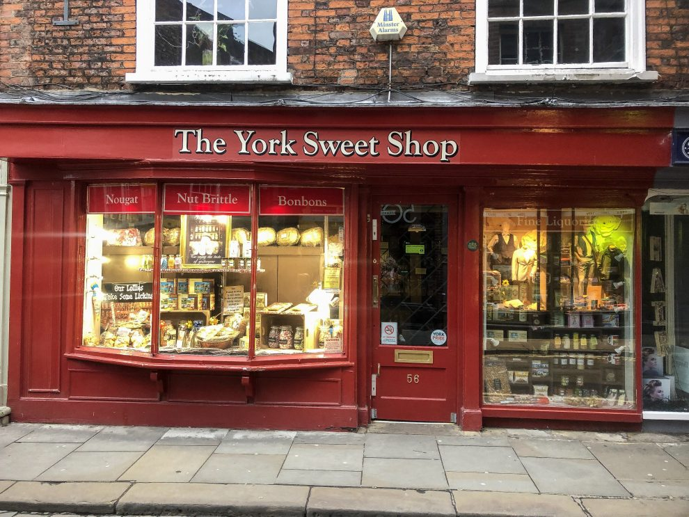 Stedentrip York, Shambles, Harry Potter straat Diagon Alley, The York Sweet Shop