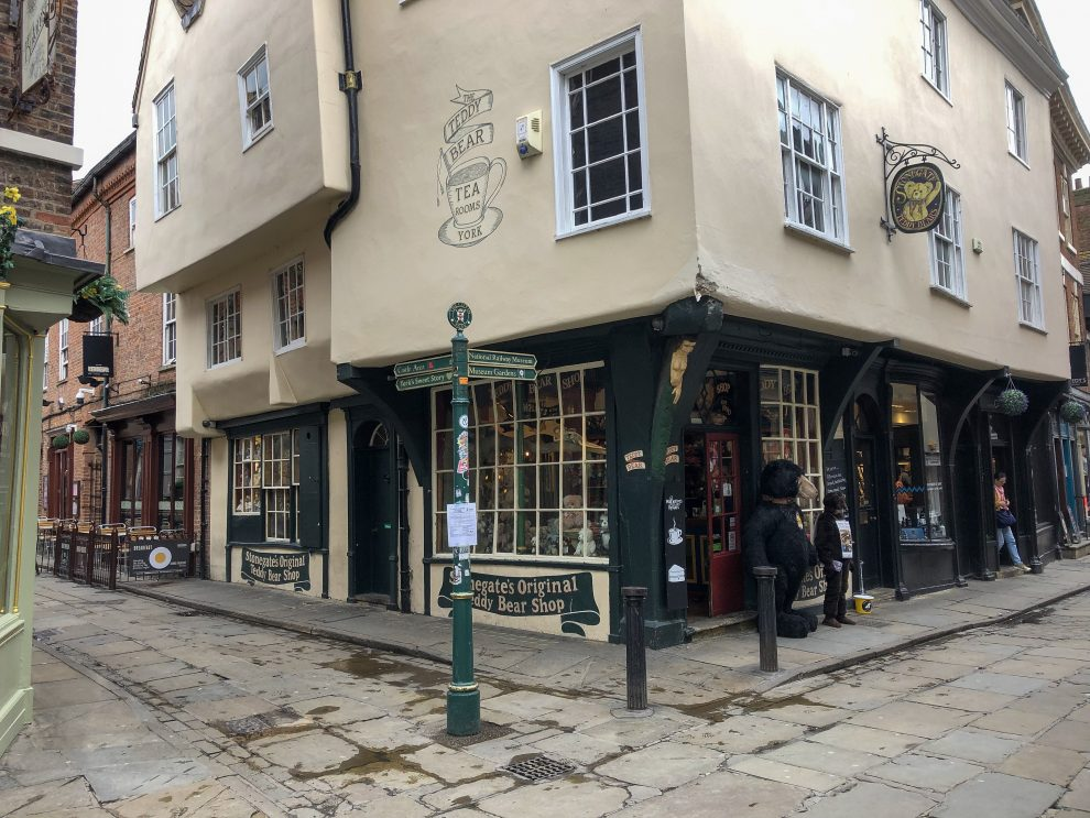 Stedentrip York, Shoppen en winkels in York