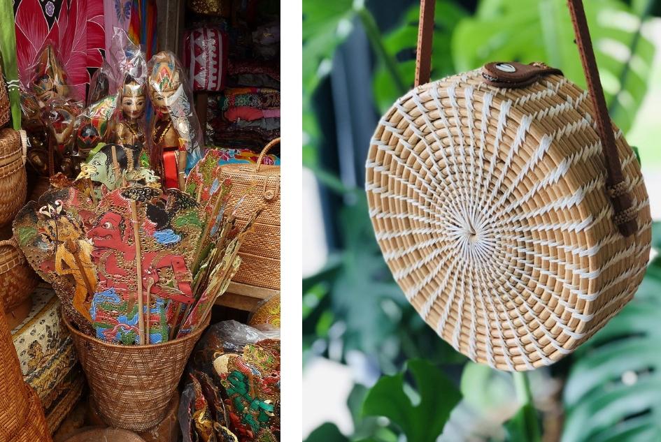 Eerste keer op vakantie naar Bali. 21-daagse reisroute & 10 tips - Dingen doen op Bali - bezoek de markt in Ubud