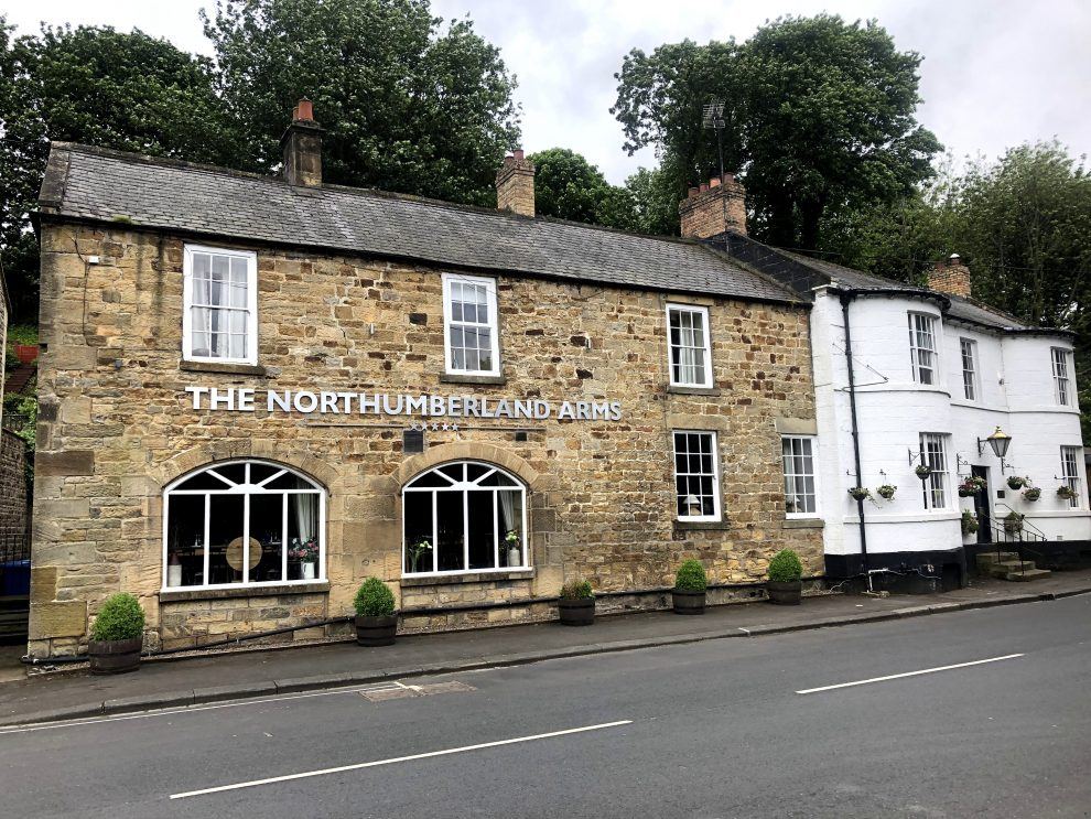 Harry Potter reis door Engeland. The Northumberland Arms - overnachten dichtbij Alnwick Castle - Alle Harry Potter filmlocaties