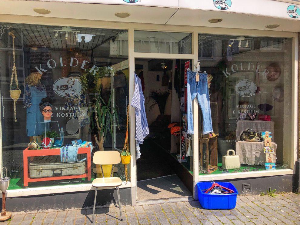 Weekendje weg naar Bergen op Zoom. De leukste winkels, winkelen in Bergen op Zoom bij Kolder - vintage shoppen