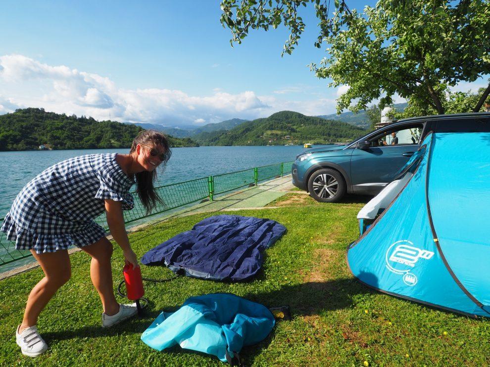 Balkan roadtrip - 3weekse reisroute - Kamperen in Bosnie & Herzegovina - Auto Camp Miris Ljeta