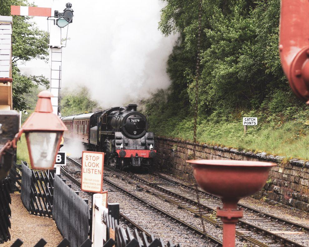 North York Moors, Yorkshire Moors Railway, Hogsmeade station, Harry Potter filmlocaties in Engeland - Goathland station