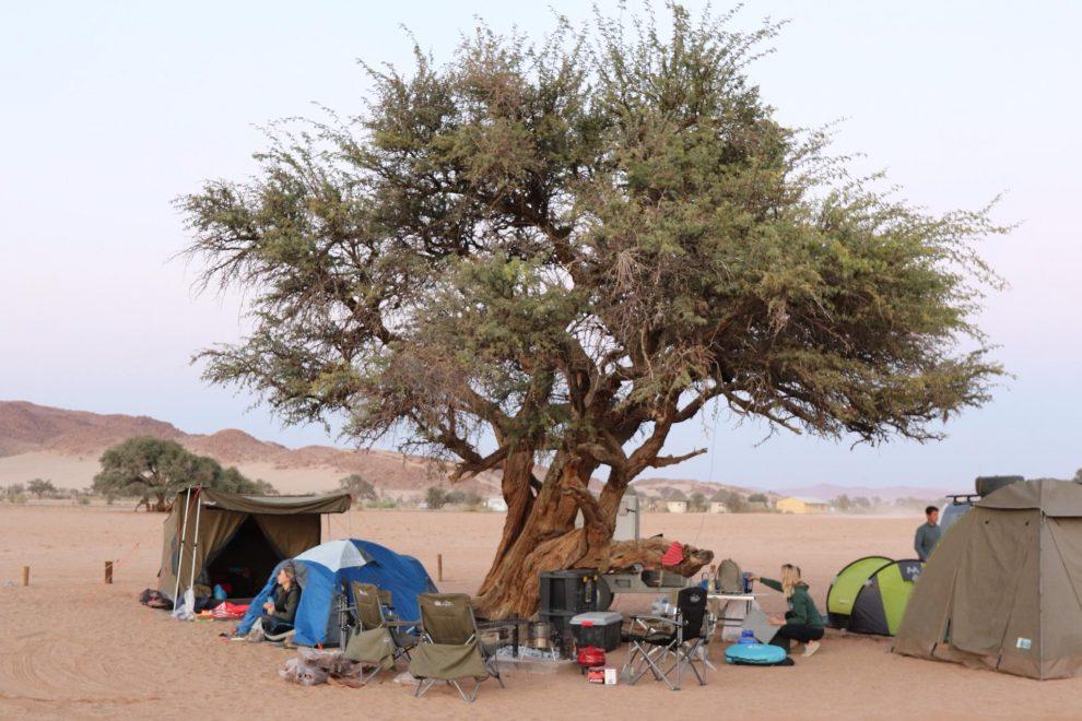 Rondreis Namibie. De mooiste plekken voor 3 weken - Sesriem / Sossusvlei Nationaal Park/ Dead vlei