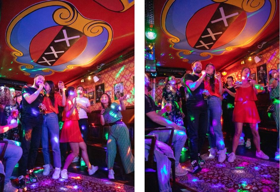 Cafe Plan West, voorheen Cafe de Krommerdt Andre Hazes kroeg, Amsterdam West De Baarsjes, Witte de Withstraat 188, Mingus Verhoeff, karaokebar in Amsterdam