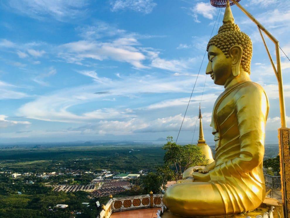 hoogtepunten van Zuid Thailand - de mooiste dingen om te doen en bezienswaardigheden voor een rondreis - Tiger Cave Temple Krabi