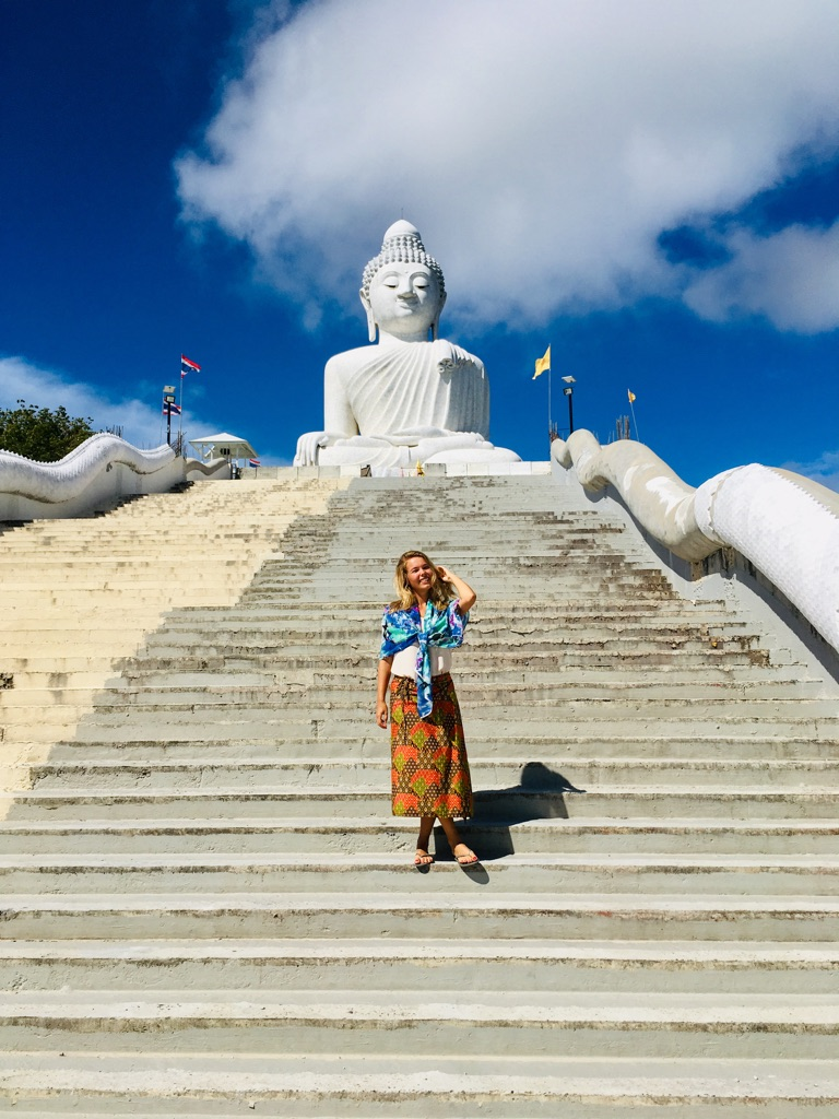witte Boeddha in Phuket