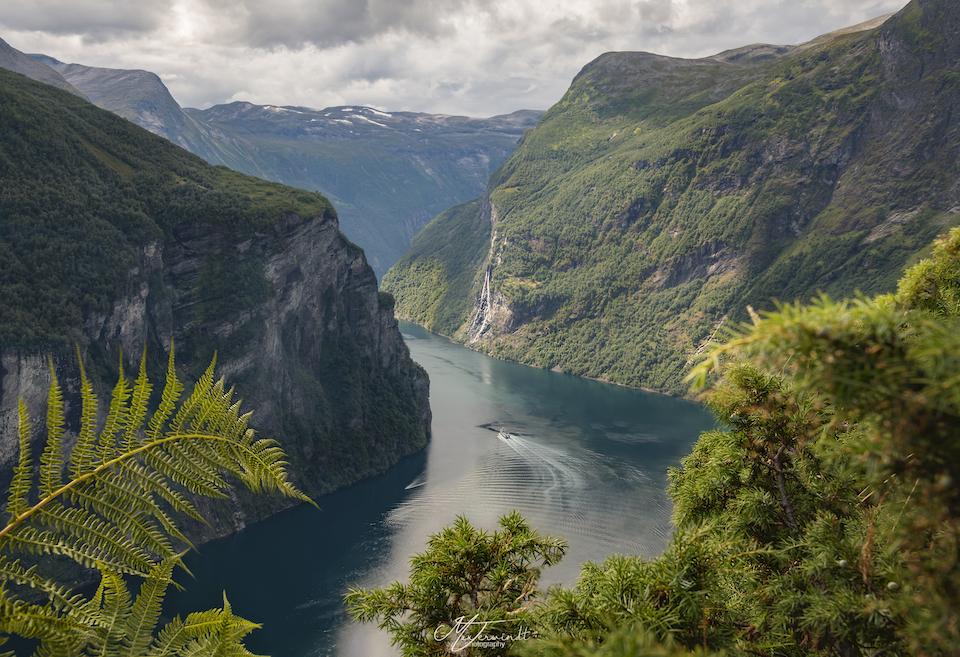 Rondreis door Midden Noorwegen point - Geirangerfjord