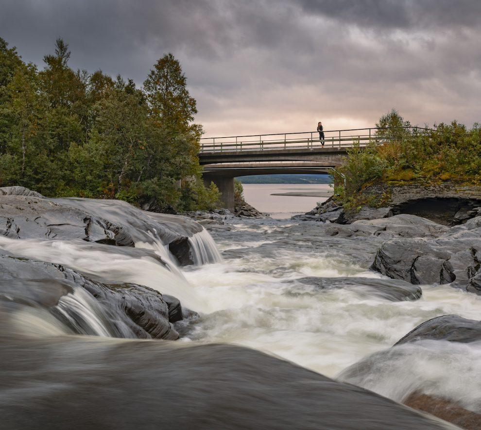 Vakantie in de wildernis van Zweden - Trappenstegforsen - Vildmarksvägen, Wilderness Road Zweden, op vakantie in Jamtland.