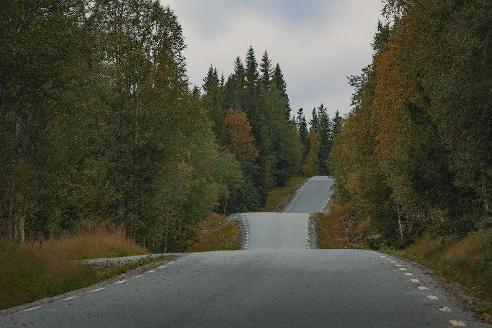 Vakantie in de wildernis van Zweden - Vildmarksvägen, Wilderness Road Zweden, op vakantie in Jamtland.