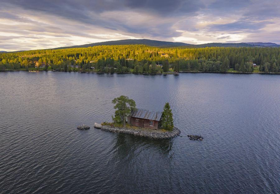Vakantie in de wildernis van Zweden - Gäddede, Vildmarksvägen, Wilderness Road Zweden, op vakantie in Jamtland.