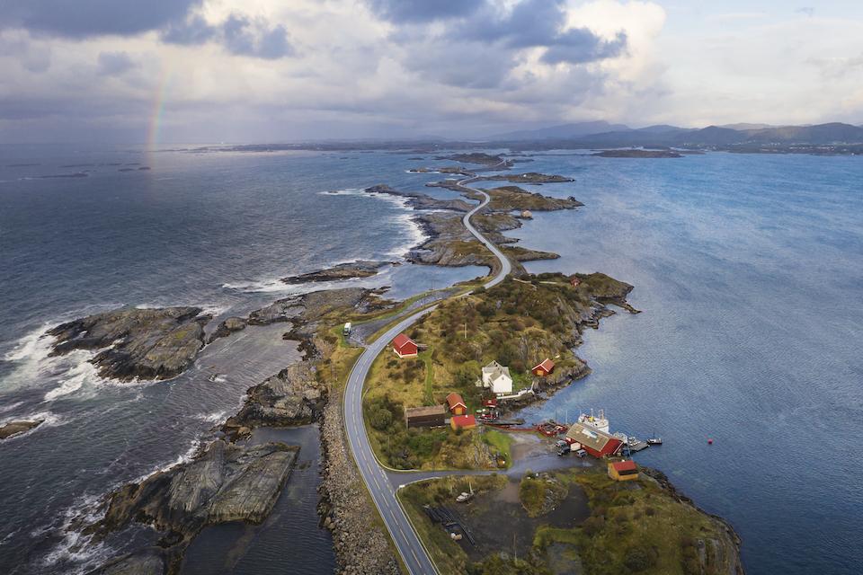 Rondreis door Midden Noorwegen - mooiste weg van Noorwegen Rondreis door Midden Noorwegen - mooiste weg van Noorwegen Atlanterhavsveien