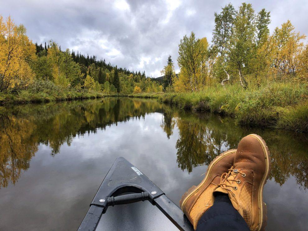 Vakantie in de wildernis van Zweden - Bjurälven, Vildmarksvägen, Wilderness Road Zweden, op vakantie in Jamtland.